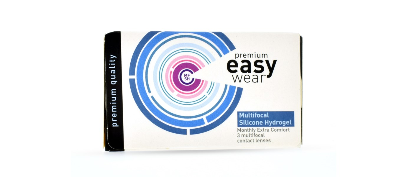 Easy Wear Multifocaal High Add Silicone Hydrogel (3 stuks)