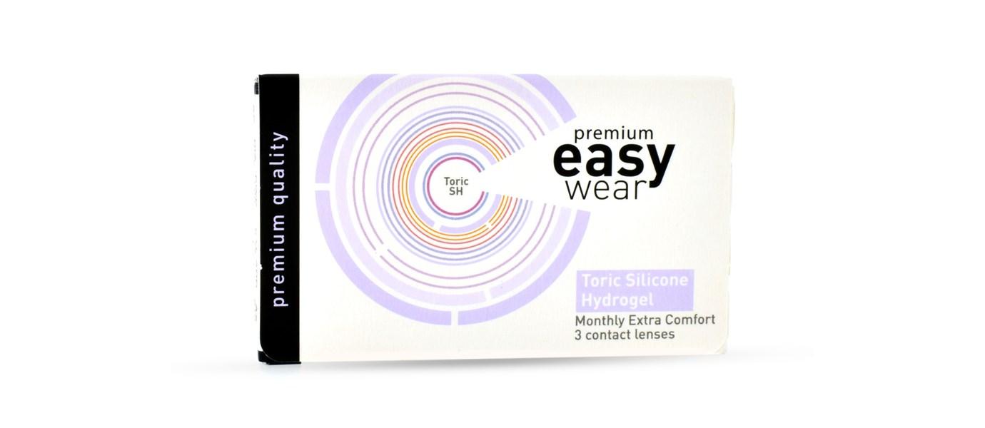 Easy Wear Toric Silicone Hydrogel (3 stuks)