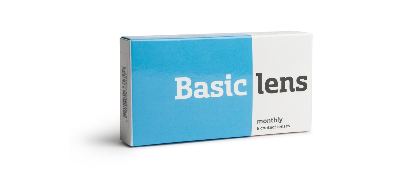 Monthly basic contactlens -4.00