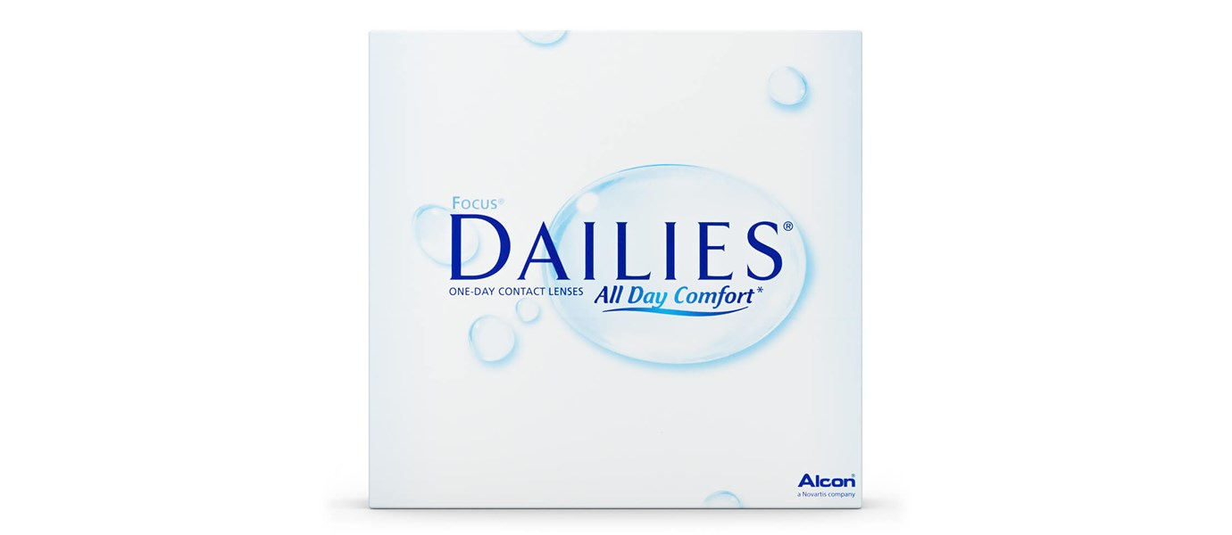 Focus Dailies All Day Comfort (90 pièces)