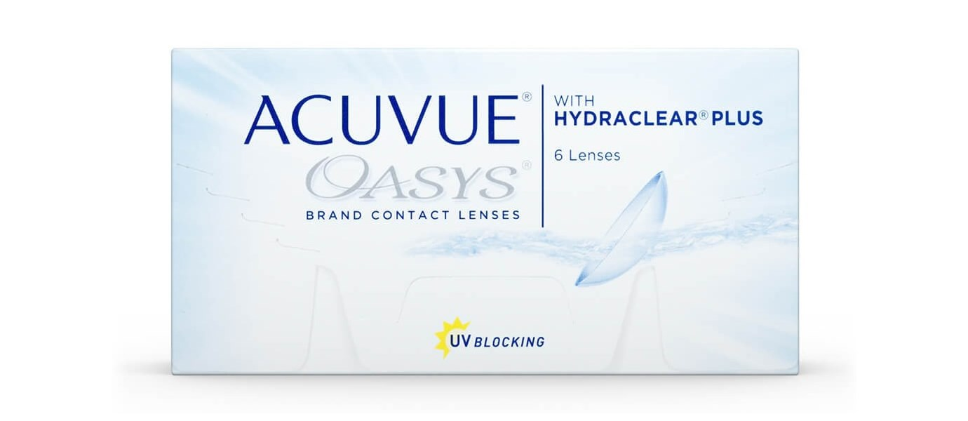 Acuvue Oasys (6 pièces)
