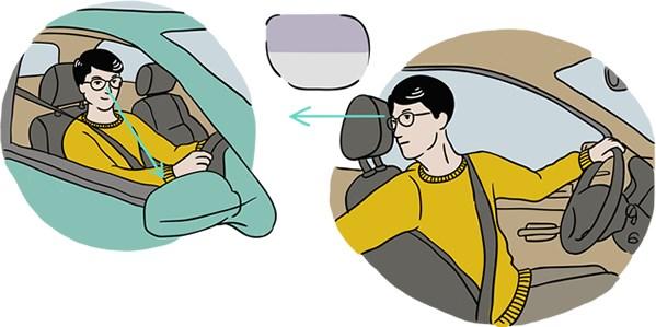 autorijden multifocale bril