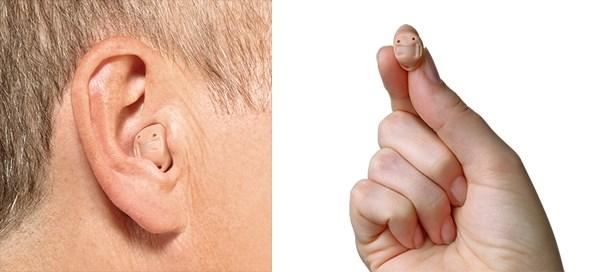 Hoorapparaat voor in het oor