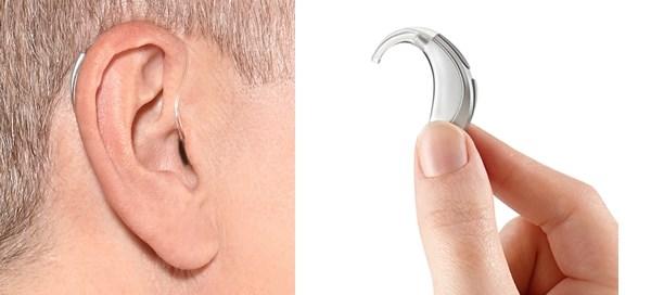 Hoorapparaat voor achter het oor