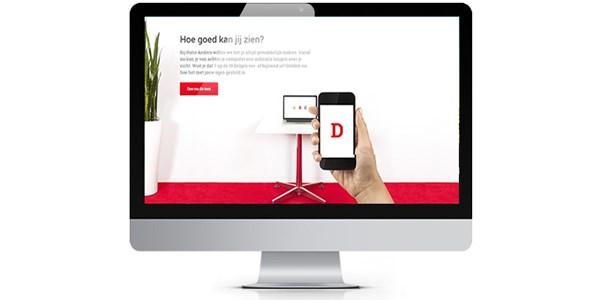 online oogtest