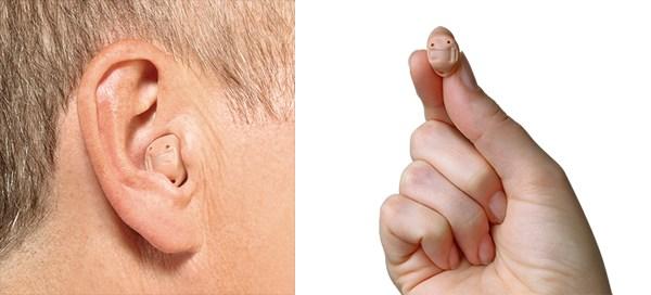 hoorapparaat in het oor