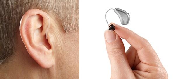 Hoortoestellen met een luidspreker